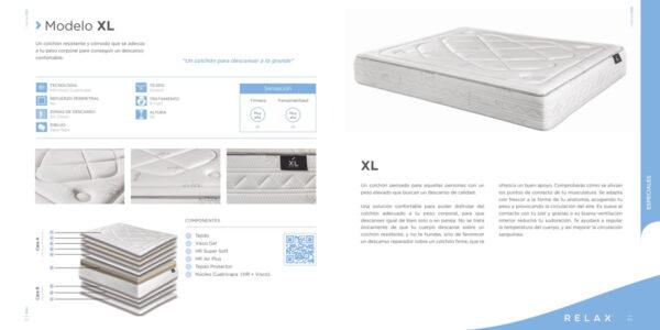 Colchon XL detalles
